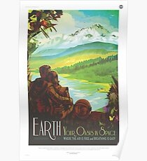 NASA Tourism - Earth Poster
