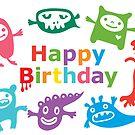 Critter Birthday - card by Andi Bird