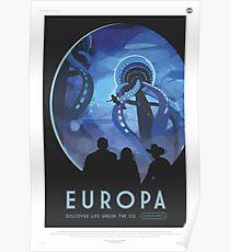 NASA Tourism - Europa Poster