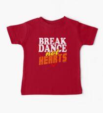 Break Dance Not Hearts Retro Vintage  Kids Clothes