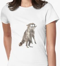 Rigby The Racoon Women's Fitted T-Shirt