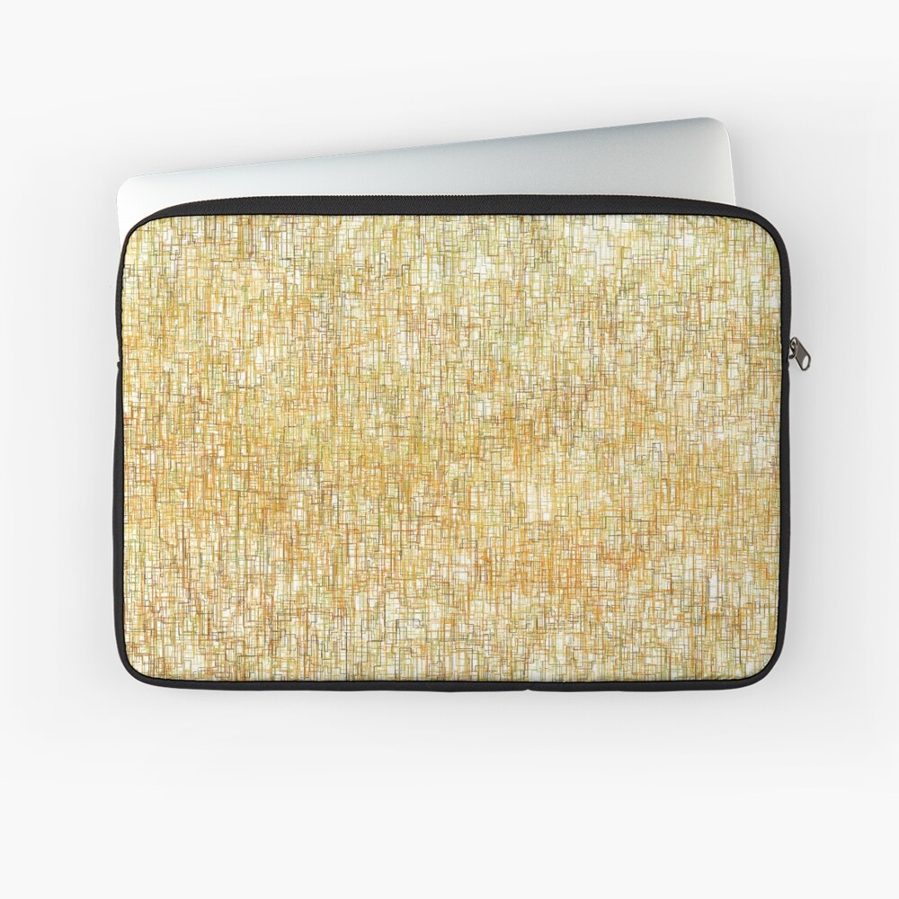 Squiggly Lines Laptop Sleeve