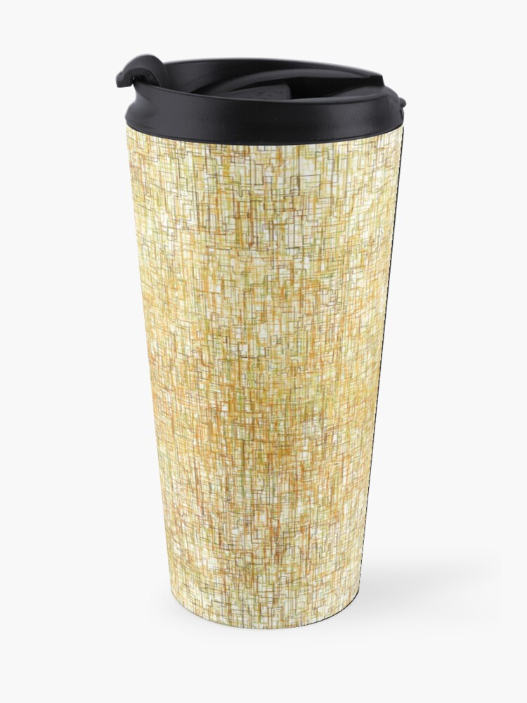 Alternate view of Squiggly Lines Travel Mug