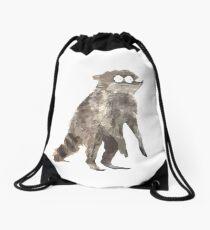Rigby The Racoon Drawstring Bag