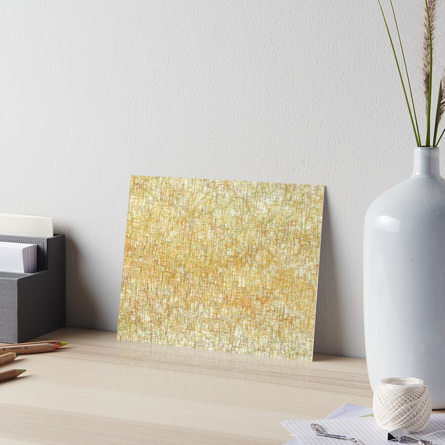 Squiggly Lines Art Board Print