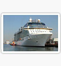 Celebrity Eclipse docked in Southampton Sticker