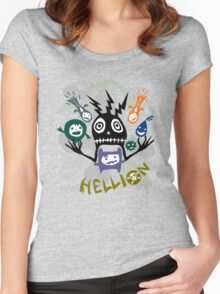 Hellion  Women's Fitted Scoop T-Shirt