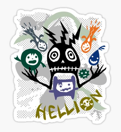 Hellion  Sticker