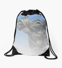 I Caught the Wind in the Clouds Drawstring Bag