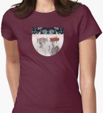 Kublai Khan and Chabui Womens Fitted T-Shirt