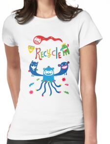 Recycle Monsters   T-Shirt