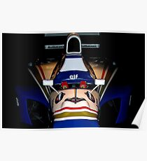 Williams FW16 - Ayrton Senna 3 Poster