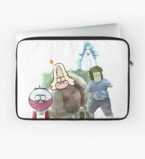 The Regular Show Characters Half Realistic Laptop Sleeve