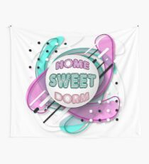 PopArt Home Sweet Dorm  Wall Tapestry