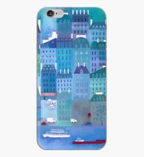 Paris Blues Painting iPhone Case