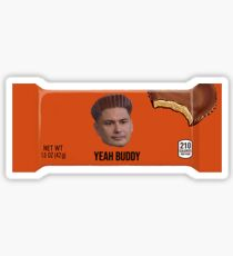 DJ Pauly D Yeah Buddy Candy Sticker