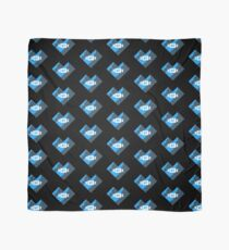 I Love Montana Heart Mountains Night Blue Scarf