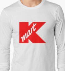 K-Mart Retro Vintage Replica Logo Long Sleeve T-Shirt