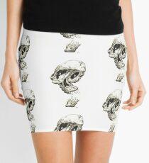 Melting skull Mini Skirt
