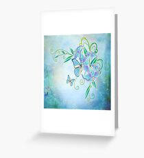 Blue Butterfly! SALE! Greeting Card