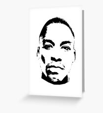 Lupe Fiasco Greeting Card