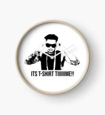 DJ Pauly D T-shirt Time Clock