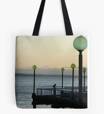 Sunset on Elliott Bay Tote Bag