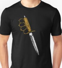 World War 1 Trench Knife Alone T-Shirt