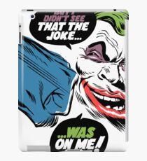 No Joke iPad Case/Skin