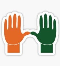 UM Hands Sticker