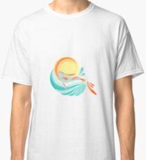 Camiseta clásica pez koi