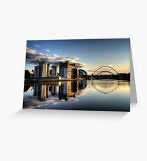 Reflective Tyne Greeting Card