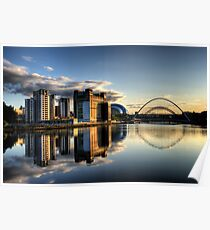 Reflective Tyne Poster