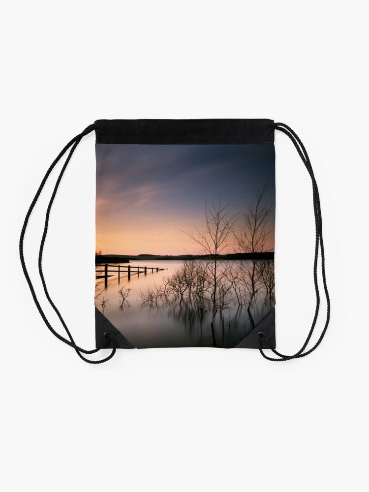 Alternate view of Fence Drawstring Bag