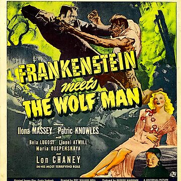 FRANKENSTEIN MONSTER VS THE WOLFMAN by MaskedMarvel