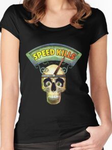 Speed Kills Women's Fitted Scoop T-Shirt