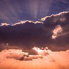 Multicolored sky by Zina Stromberg