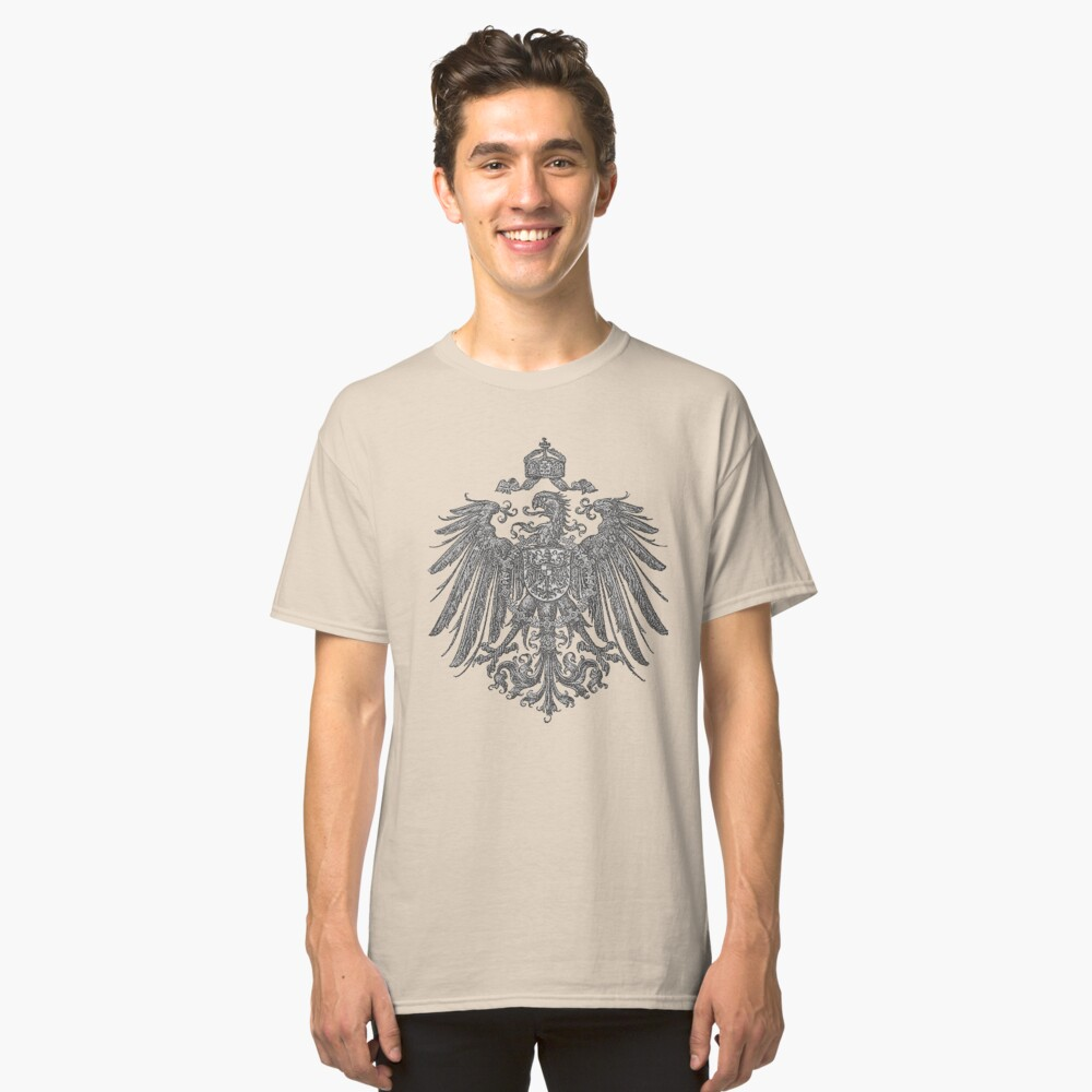 German Heritage, 1888 Feathered Reich Eagle Classic T-Shirt
