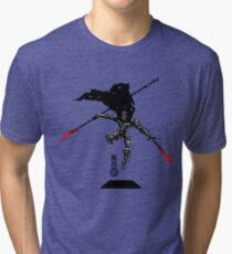 The Game of Kings, Wave Three: The Black King-Knight's Pawn Tri-blend T-Shirt