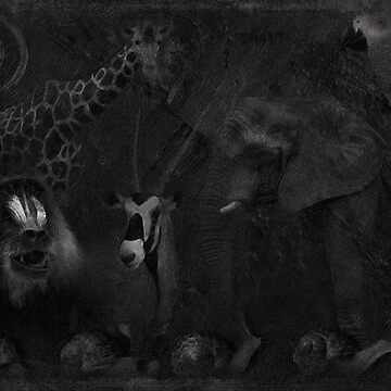 Africa in Gray No 01i by iMia69