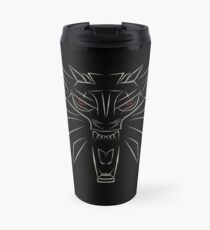 Witcher School of the Wolf Travel Mug