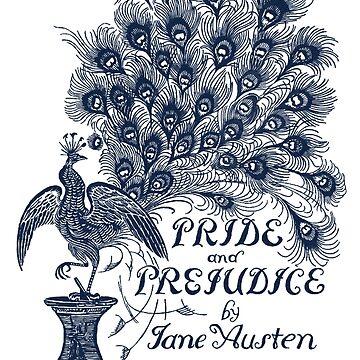 Pride & Prejudice by Jane Austen Peacock Cover by Pembertea