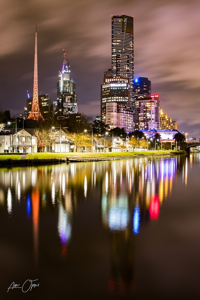 Melbourne icons by Aiin Ojani