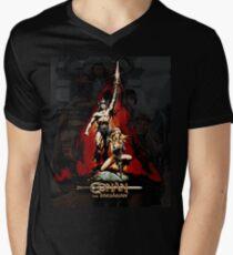 Conan the Barbarian Men's V-Neck T-Shirt