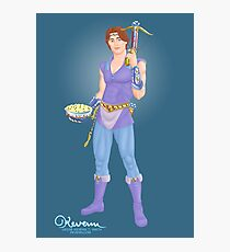 The Archer's Affable Sidekick by Kevenn T. Smith Photographic Print