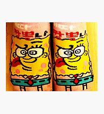 Sponge Bob Photographic Print