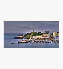 Tenby Harbour Photographic Print