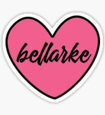 I ❤️ Bellarke Sticker