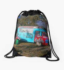 A Taste of Hippyville, Glen Davis, NSW Drawstring Bag