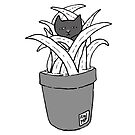 Potted Plant Spy by Anne Pennypacker